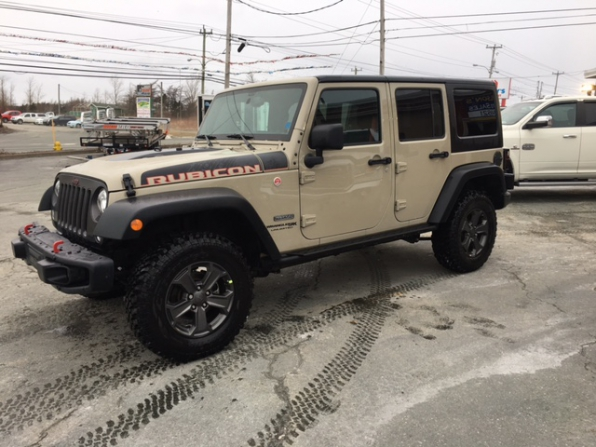 2018 JEEP WRANGLER UNLIMITED RUBICON RECON LIMITED EDITION