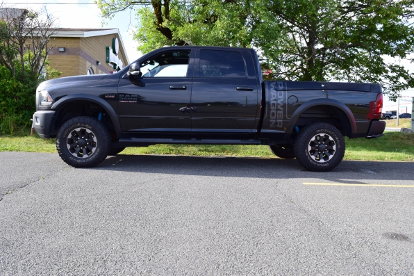 2017 RAM  2500 HD CREW CAB POWER WAGON FULL LOAD