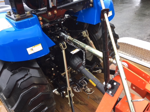 2012 NEW HOLLAND BOOMER 25 TRACTOR BLOWER MOVER Photo 14
