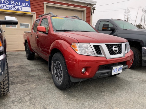 2018 NISSAN FRONTIER PRO 4X CREW CAB 4WD OFF RD PCG Photo 12