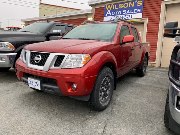 2018 NISSAN FRONTIER PRO 4X CREW CAB 4WD OFF RD PCG Photo 13