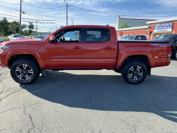 2018 TOYOTA TACOMA DOUBLE CAB TRD SPORT 4WD LEATHER SUNROOF
