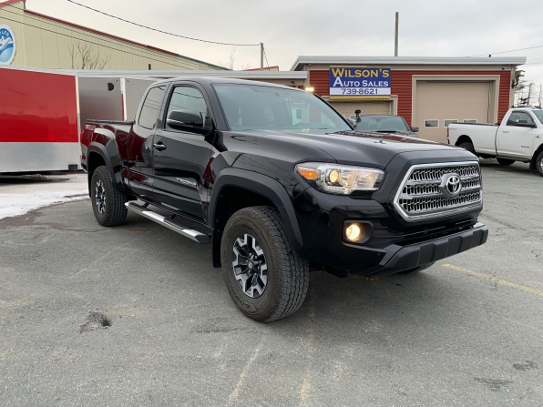 2016 TOYOTA  TACOMA ACCESS CAB TRD OFF RD ONLY 16000 K Photo 13