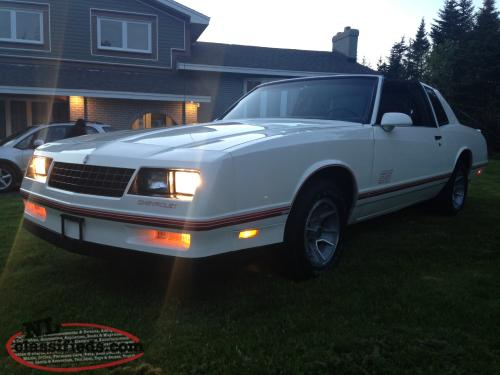 1988 CHEVROLET MONTE CARLO SS COUPE