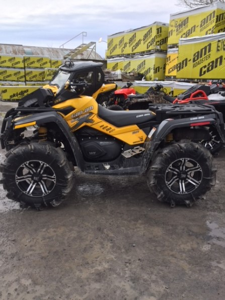 2011 CAN AM OUTLANDER XMR