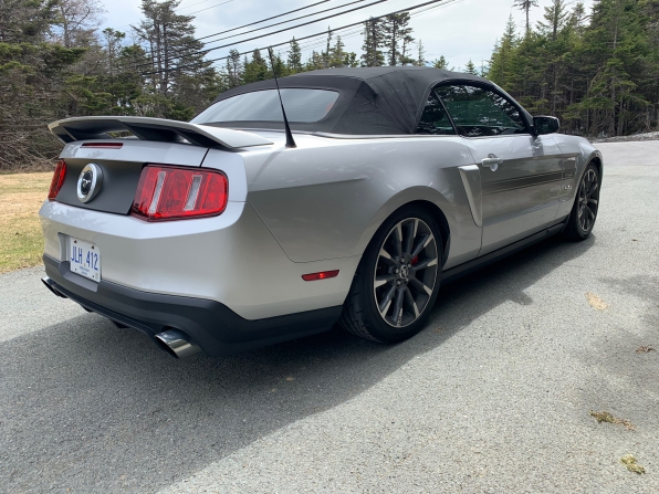 2012 FORD MUSTANG GT CALIFORNIA SPECIAL CONVERTIBLE 6 SP MANUAL  Photo 7