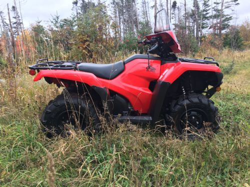 2014 Honda 420 Trx 4wd Photo 3