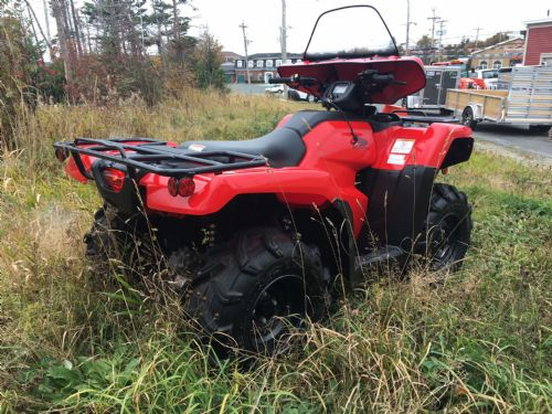 2014 Honda 420 Trx 4wd Photo 4