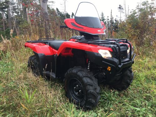 2014 Honda 420 Trx 4wd Photo 5