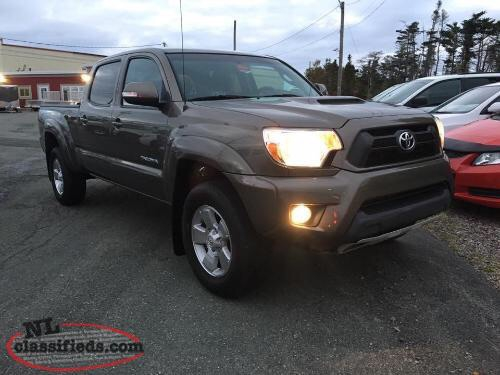 2014 TOYOTA TACOMA DOUBLE CAB TRD SPORT 4WD  Photo 1