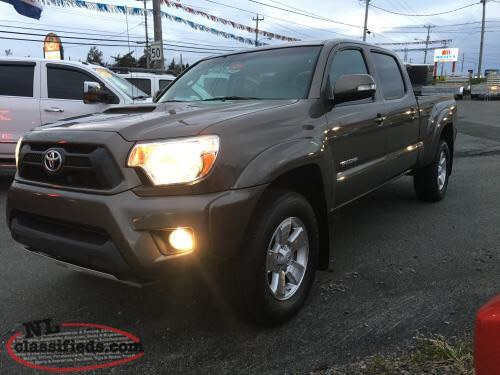 2014 TOYOTA TACOMA DOUBLE CAB TRD SPORT 4WD