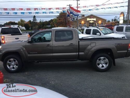 2014 TOYOTA TACOMA DOUBLE CAB TRD SPORT 4WD  Photo 4