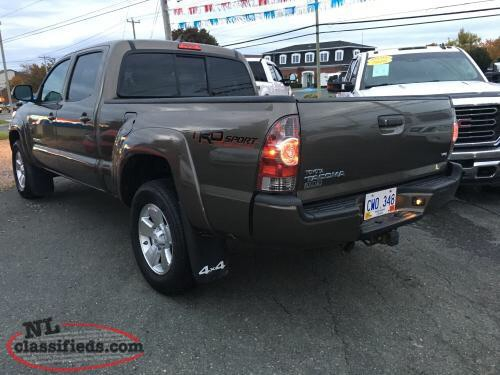 2014 TOYOTA TACOMA DOUBLE CAB TRD SPORT 4WD  Photo 7