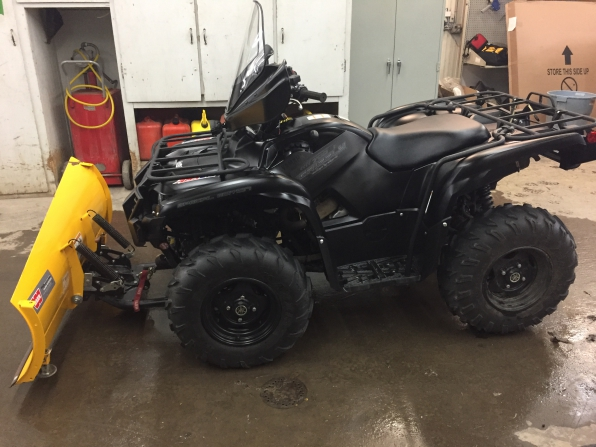 2014 YAMAHA GRIZZLY SE
