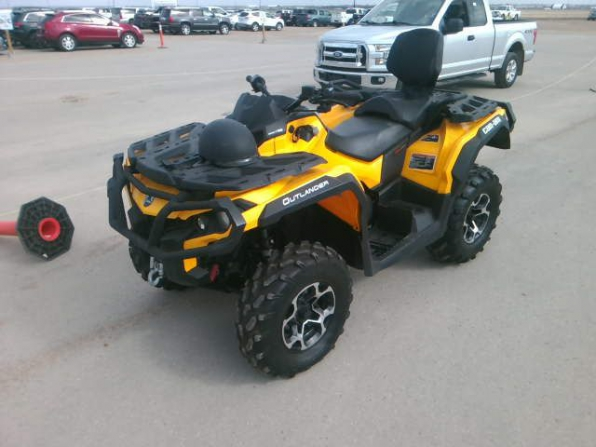 2016 CAN AM OUTLANDER MAX XT 570