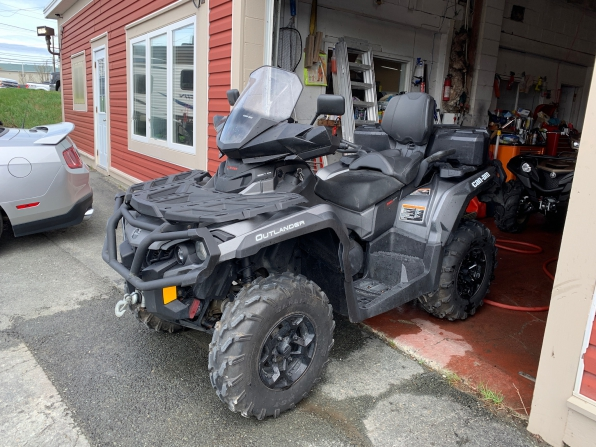 2015 CAN AM OUTLANDER MAX XT 1000 BRUSHED ALUMINUM