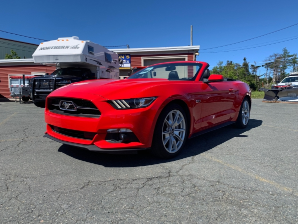2015 FORD MUSTANG GT PREMIUM CONVERTIBLE MANUAL 5.0 Photo 6
