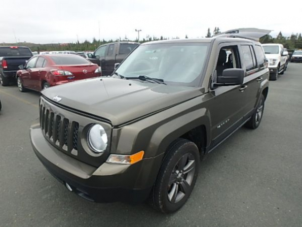 2015 JEEP PATRIOT HIGH 4WD ALTITUDE LOADED