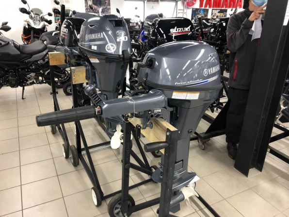 2015 YAMAHA  8 HP SHORT SHAFT