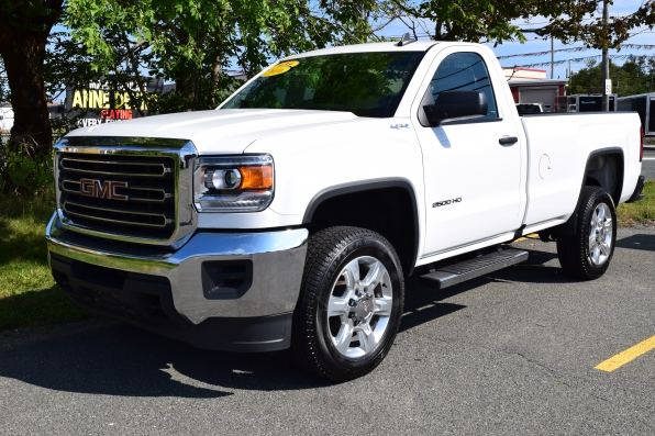 2016 GMC SIERRA REGULAR CAB 2500 4WD HEAVY DUTY Photo 1