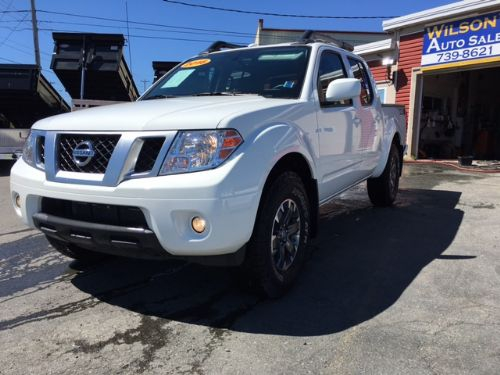 2018 NISSAN FRONTIER PRO 4X CREW CAB LOADED  Photo 11