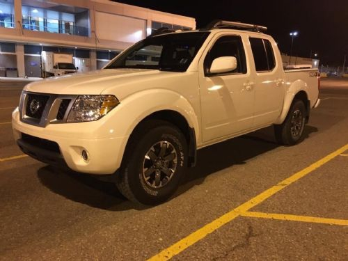 2018 NISSAN FRONTIER PRO 4X CREW CAB LOADED