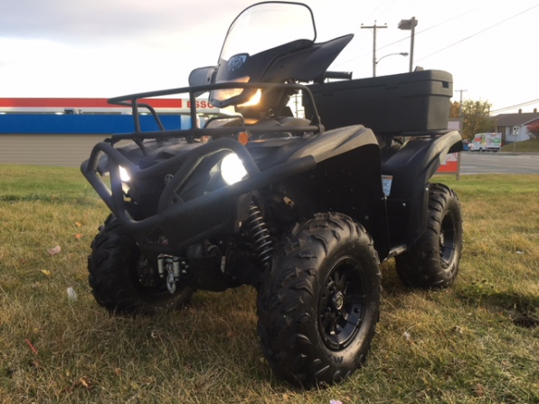 2016 YAMAHA GRIZZLY 700 SE MATTE BLACK