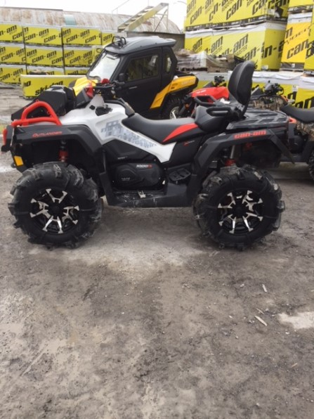 2017 CAN AM OUTLANDER XMR