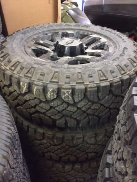2017 CHEVROLET 2500 WHEEL TIRE