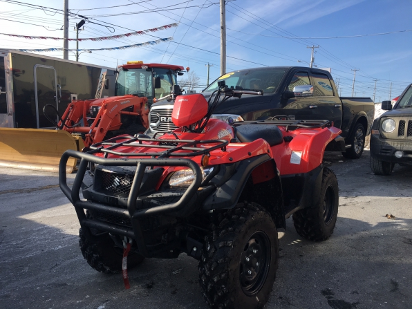 2017 Suzuki King Quad 750