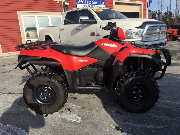 2017 Suzuki King Quad 750  Photo 2