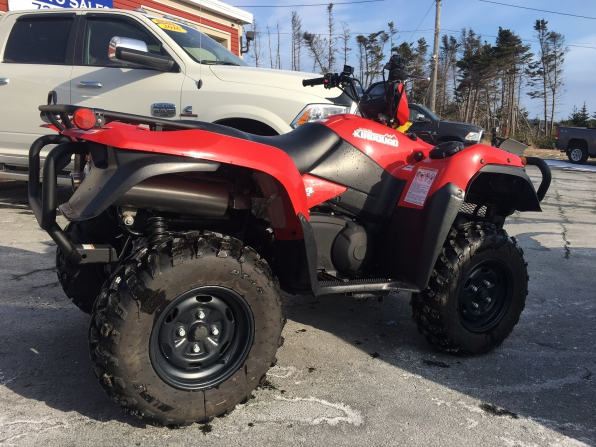 2017 Suzuki King Quad 750  Photo 3