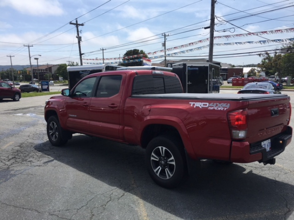 2017 TOYOTA TACOMA TRD SPORT DOUBLE CAB 4WD Photo 9