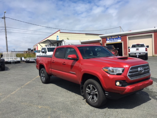 2017 TOYOTA TACOMA TRD SPORT DOUBLE CAB 4WD Photo 5