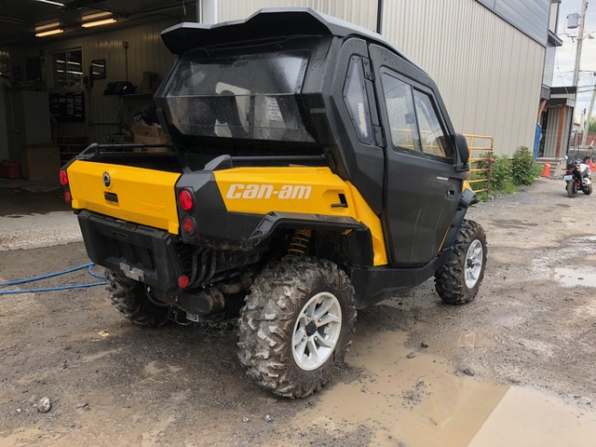 2018 CAN AM  COMMANDER 1000 XT CAB HEATER LOADED  Photo 2