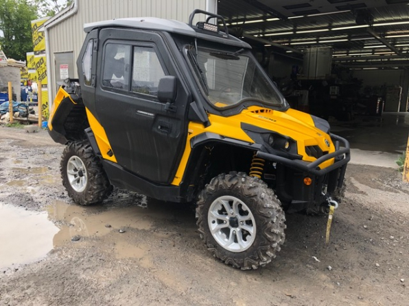2018 CAN AM  COMMANDER 1000 XT CAB HEATER LOADED  Photo 3