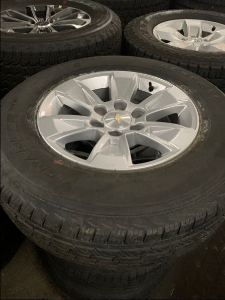 2018 CHEVROLET 18 INCH ALLOYS