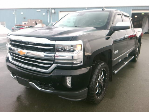 2018 CHEVROLET SILVERADO 1500 CREW HIGH COUNTRY LOADED
