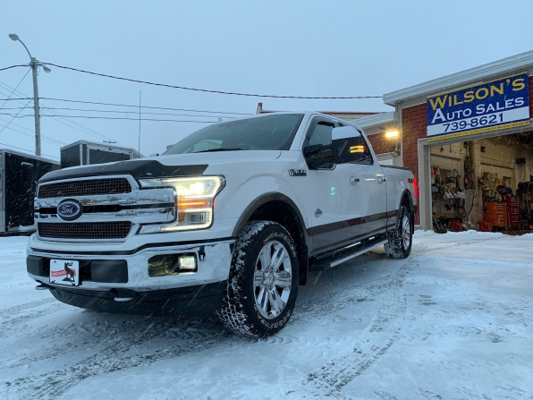 2018 FORD F-150 SUPER CREW KING RANCH MAX TOW