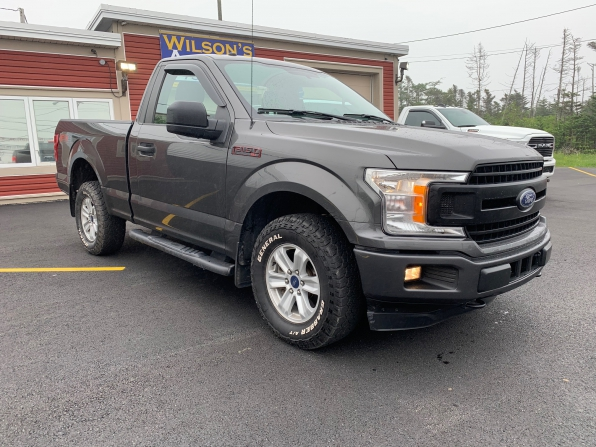 2018 FORD F-150 XLT FX-4 REGULAR CAB 4WD SHORT BOX SPORT Photo 10