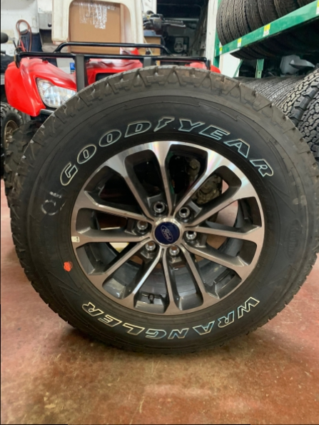 2018 FORD F150 18 INCH WHEEL TIRE 5 sets AVAILABLE
