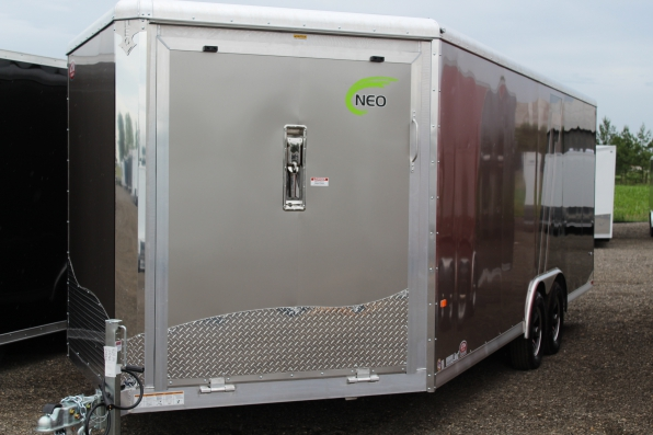 2018 NEO NAS 8.5 X 24 ALL ALUMINUM CAR TOY HAULER