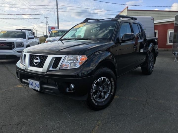 2018 NISSAN FRONTIER CREW PRO 4X LOADED
