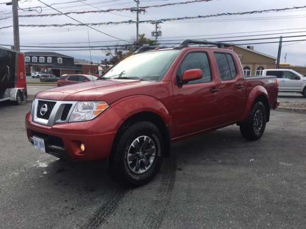 2018 NISSAN FRONTIER PRO 4X CREW CAB 4WD OFF RD PCG