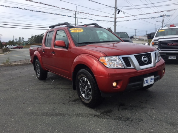2018 NISSAN FRONTIER PRO 4X CREW CAB 4WD OFF RD PCG Photo 5