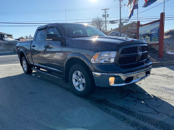 2018 RAM 1500 CREW CAB 4WD OUTDOORSMAN ECO DIESEL W 6.4 FT BED  Photo 5