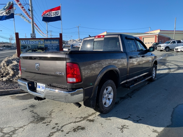 2018 RAM 1500 CREW CAB 4WD OUTDOORSMAN ECO DIESEL W 6.4 FT BED  Photo 7