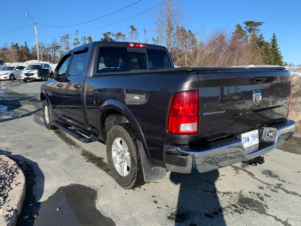 2018 RAM 1500 CREW CAB 4WD OUTDOORSMAN ECO DIESEL W 6.4 FT BED  Photo 8