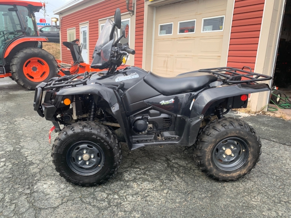 2018 SUZUKI KING QUAD 750 AXI LOADED 1000 K Photo 3