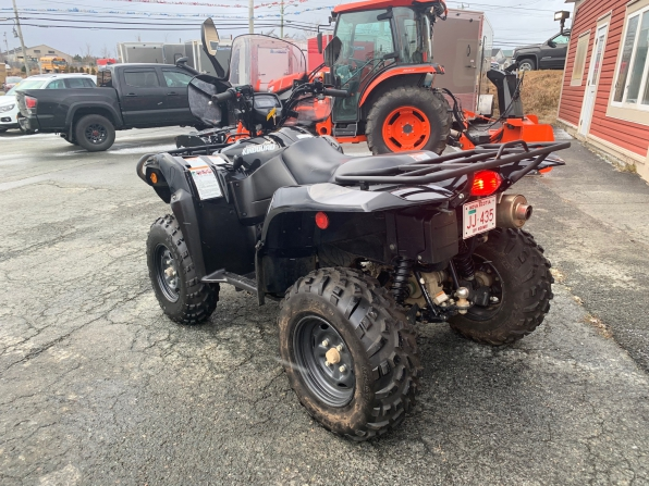 2018 SUZUKI KING QUAD 750 AXI LOADED 1000 K Photo 4